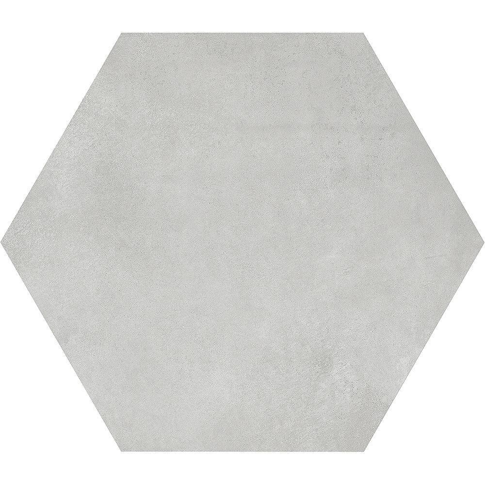 Enigma Carreau de porcelaine haute définition Matte Artisano Quartz Hexagon 7 x 8 po  (2,8 pi.ca/carton)
