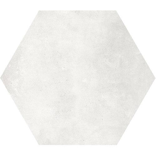 Carreau de porcelaine haute définition Matte Artisano Arena Hexagon 7 x 8 po  (2,8 pi.ca/carton)