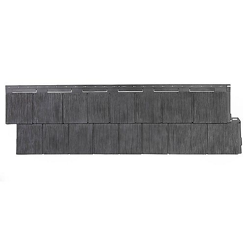 NovikShake RS - Rough Sawn Shake in Anthracite (48.84 Square Feet / Box)
