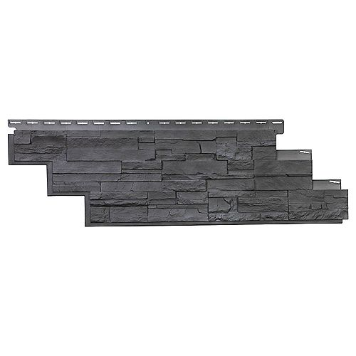 NovikStone DS - Dry Stack Stone in Anthracite (25.18 Square Feet / Box)