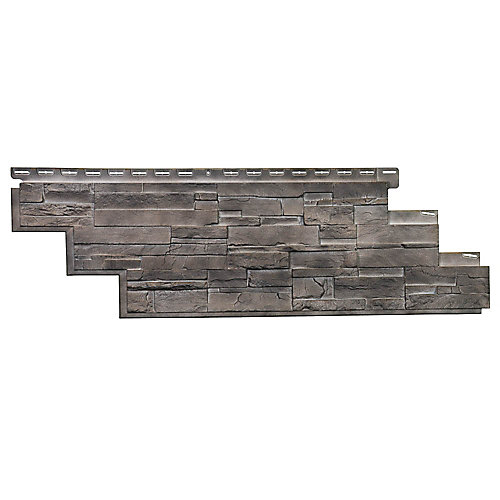 NovikStone DS - Dry Stack Stone in Flint (25.18 Square Feet / Box)
