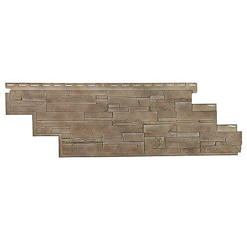 Stone DS - Pierres Sans Joints - Brownstone (25.18 Pieds carrés par boîte)