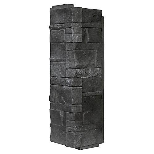 NovikStone DS - Dry Stack Stone in Anthracite - Corner (6.30 Ln. Ft. / box)