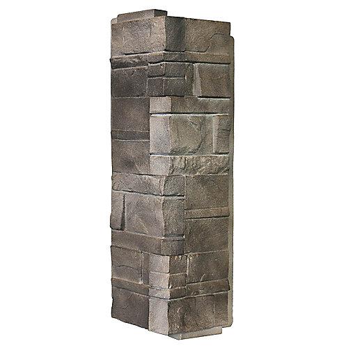 NovikStone DS - Dry Stack Stone in Flint - Corner (6.30 Ln. Ft. / box)