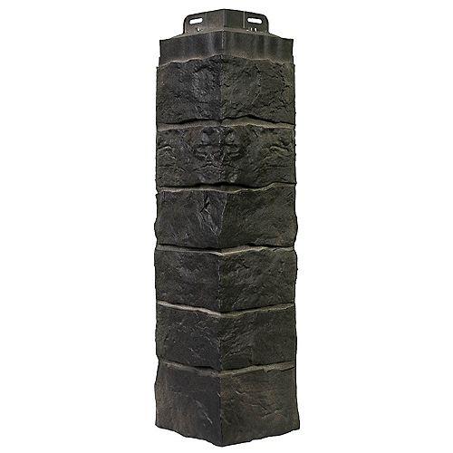 NovikStone SK - Stacked Stone in Onyx - Corner (7.92 Ln. Ft. / box)