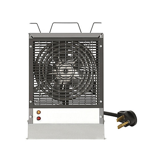 Enclosed Motor Construction Heater, Grey