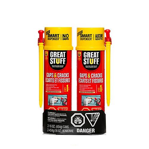 Smart Dispenser Gaps & Cracks 16Oz Twin Pack