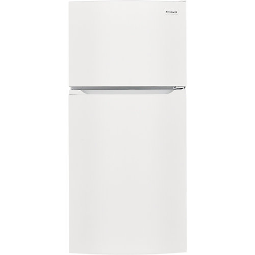 28-inch W 13.9 cu. ft. Top Freezer Refrigerator in White - ENERGY STAR®
