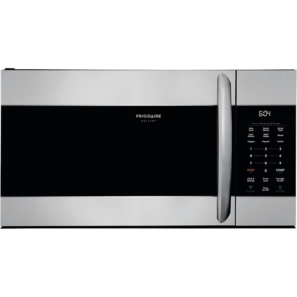 Frigidaire Gallery 30-inch W 1.7 cu. ft. Over the Range Microwave with Sensor Cooking in Smudge-Proof® Stainless Steel
