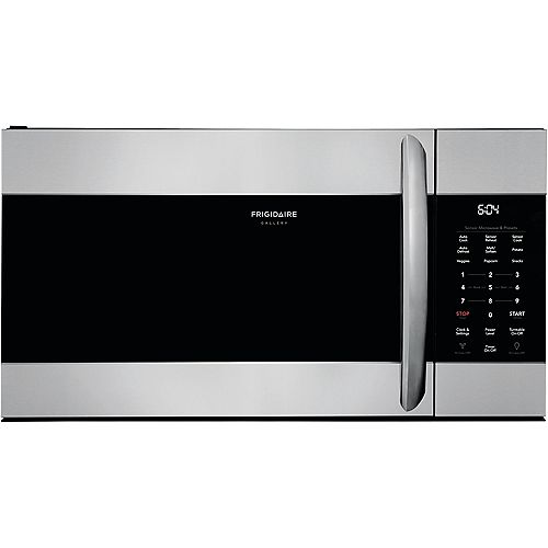 30-inch W 1.7 cu. ft. Over the Range Microwave with Sensor Cooking in Smudge-Proof® Stainless Steel