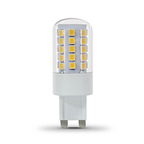 40W Eq Warm White (3000K) G9 Bi-Pin LED Light Bulb