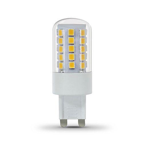 Feit Electric Ampoule DEL équivalente de 40 watts à base G9 à deux broches Capsule, , blanc chaud 3000K