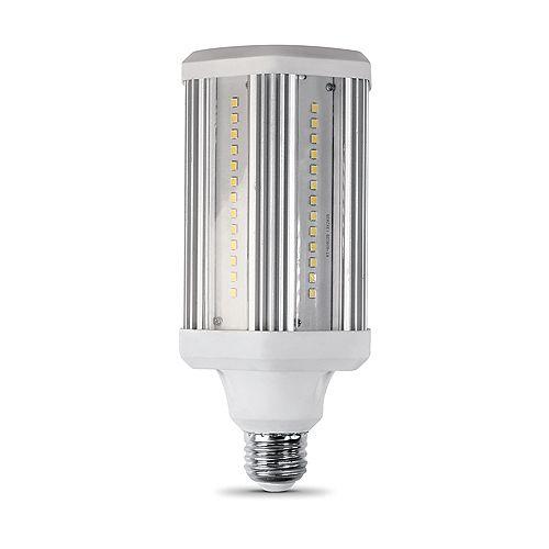 300-Watt Equivalent Corn Cob High Lumen Output Daylight (5000K) HID Utility LED Light Bulb