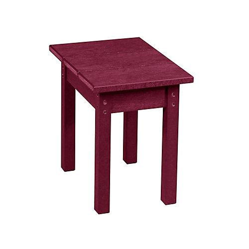 Petite Table Rectangulaire Bordeaux