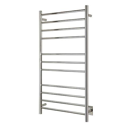 Ontario XL, Polished, Hardwired, 11 Bars Towel Warmer