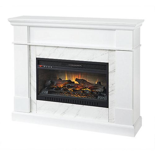 53 inch Media Mantel Fireplace
