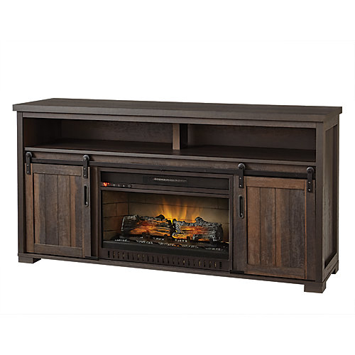60-inch Media Console Electric Fireplace