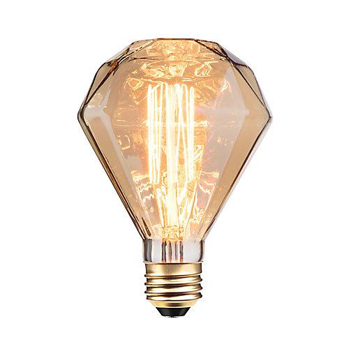 Ampoule incandescente à design Vintage Edison, 40W de Diamante