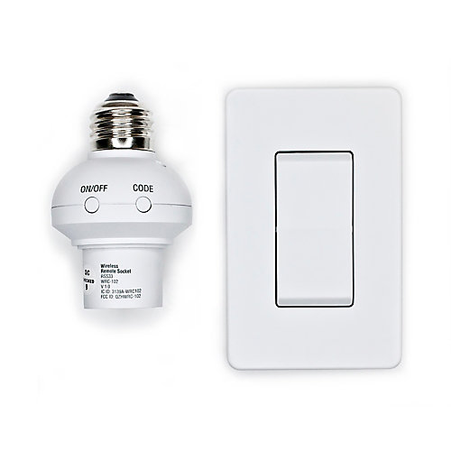 Wireless remote wall Switch and Socket