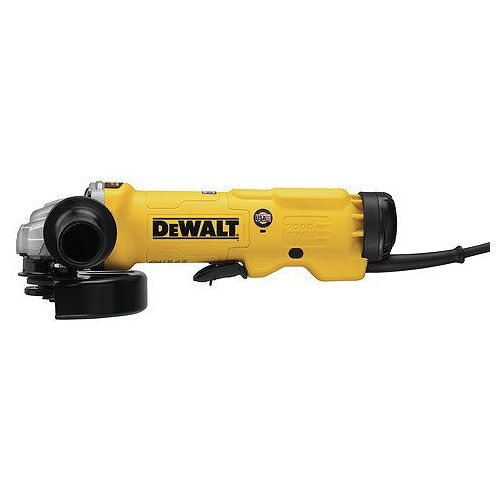 DEWALT 6-inch Barrel Grip Paddle Switch Grinder (13Amp, 9,000rpm, E-Clutch)