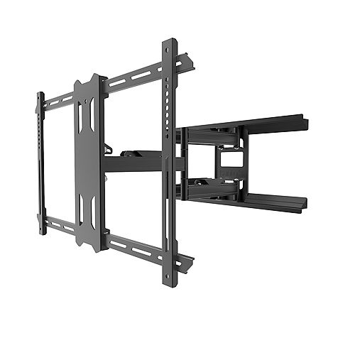 Outdoor Full Motion Mount for 37-inch to 75-inch TVs, Black