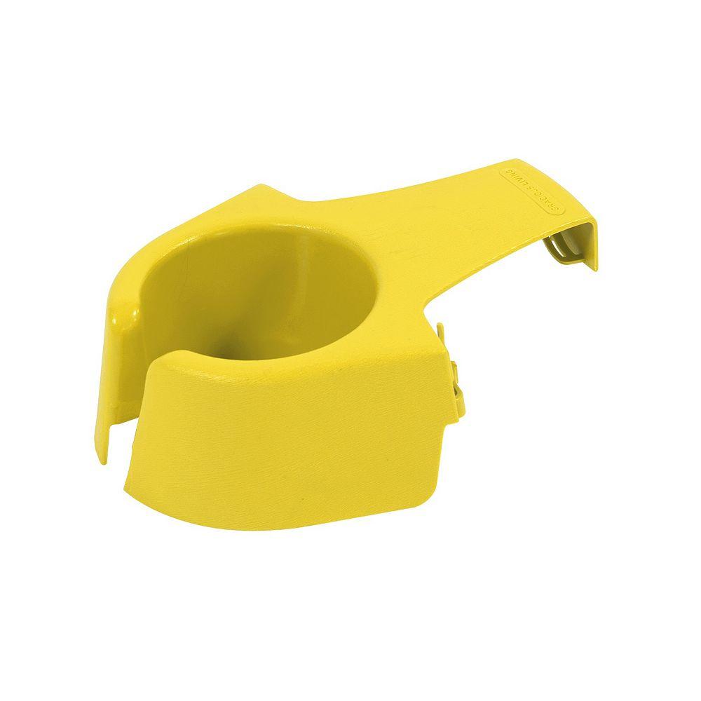 Gracious Living Support de breuvage adirondack, jaune