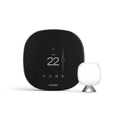 Thermostat intelligent avec commande vocale