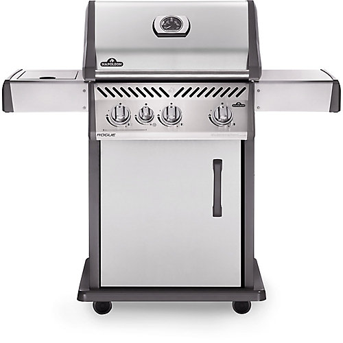 Rogue 425 Propane Gas BBQ with Range Side Burner