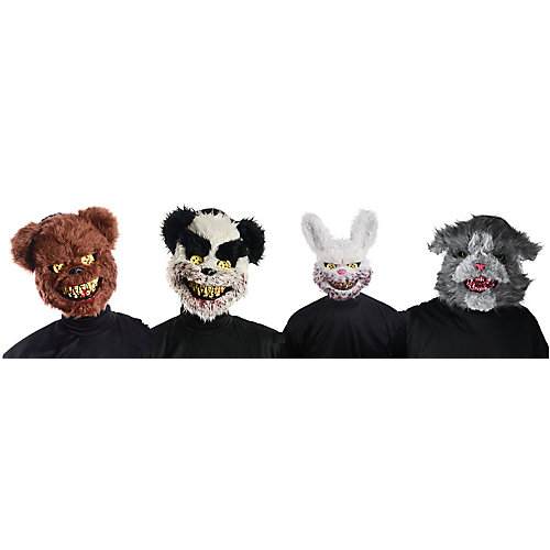 Plush Fur Masks