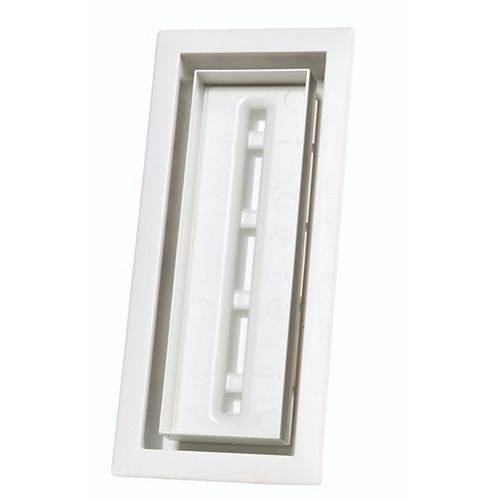 Aria Vent Inc. Aria Lite 4 pox10 po Blanc