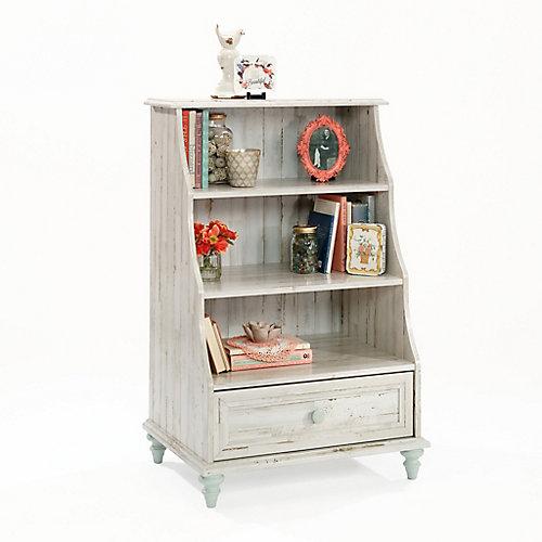 Eden Rue - Bibliothèque décorative en planche blanche