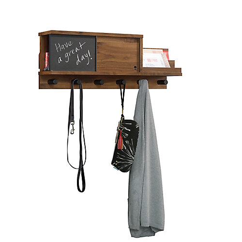 Harvey Park Wall Organizer in Grand Walnut