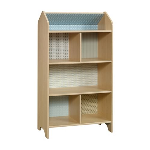 Pinwheel Dollhouse Bookcase in Urban Ash