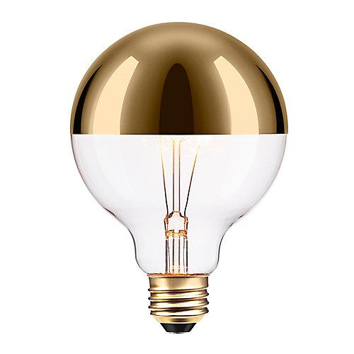 Ampoule incandescente dorée à design Vintage Edison, 40W de Oro