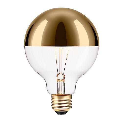 40W Gold Designer Vintage Edison Oro Incandescent Light Bulb