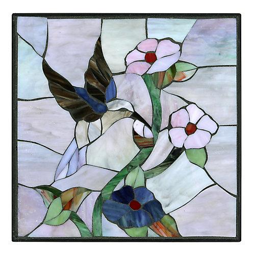 12 inch x 12 inch Hummingbird Stepping Stone