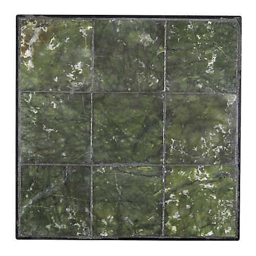 12 inch x 12 inch Jade Large Tile Stepping Stone