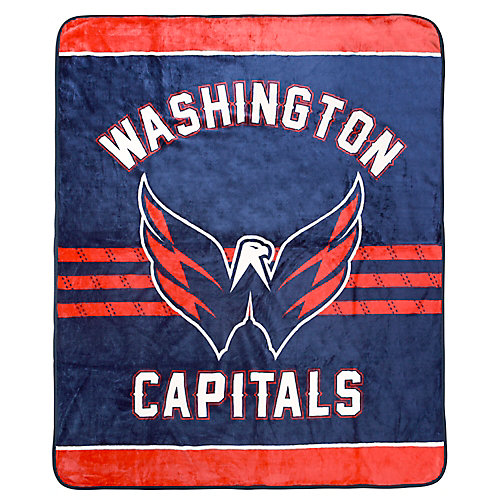 Couverture velours de luxe LNH - Capitals de Washington