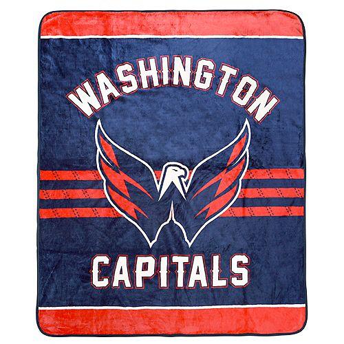 Couverture velours de luxe LNH - Capitals de Washington
