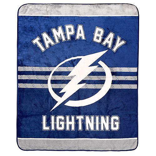 Couverture velours de luxe LNH - Lightning de Tampa Bay