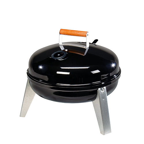 Lock 'N Go Charcoal Grill - Black
