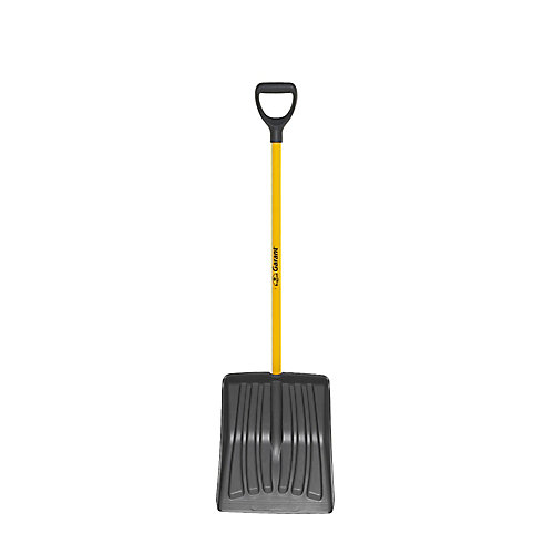 14-inch Polypro Blade Snow Shovel, Resists to Wear for Intensive Use
