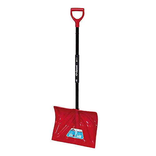 18-inch Full-Size Folding Snow Shovel With Compact Foldable Handle