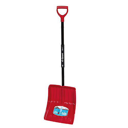 14-inch Full Size Folding Snow Shovel With Compact Foldable Handle