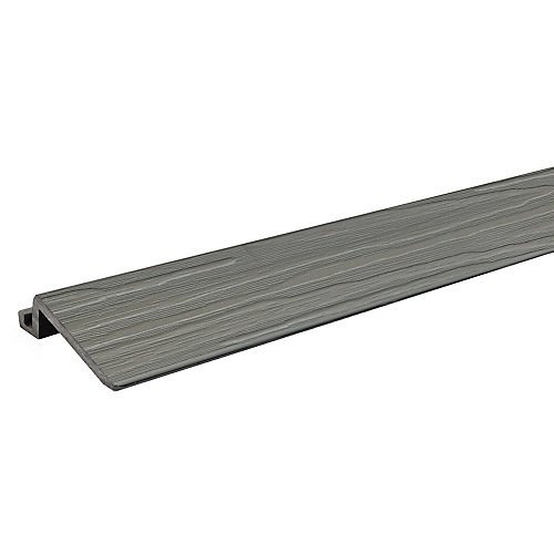 2 Pi. - pièce de transition pour tuiles de terrasse et balcon - Grey Oak - pqt4