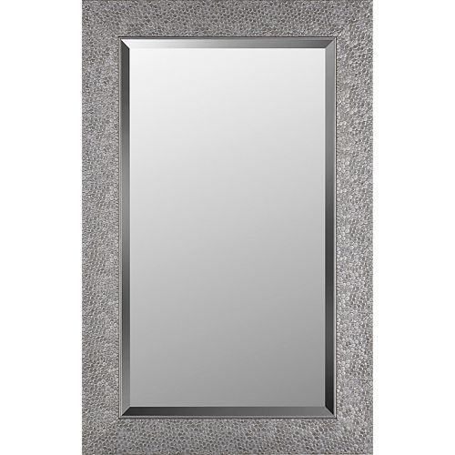 21.25x33.25 Silver Shell Mirror Bevel Mirror