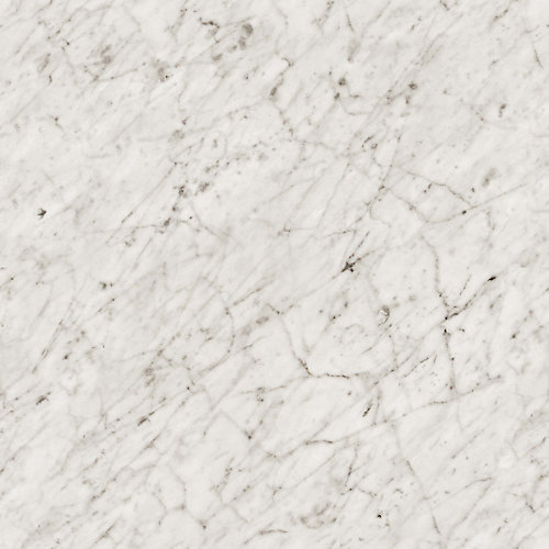 Cararra Bianco 96-inch x 48-inch Laminate Sheet in Etchings Finish