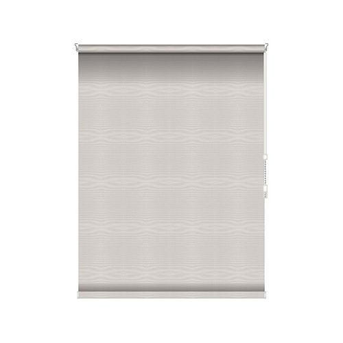 Blackout Roller Shade - Chain Operated Open Roll - 46-inch X 60-inch in Ice