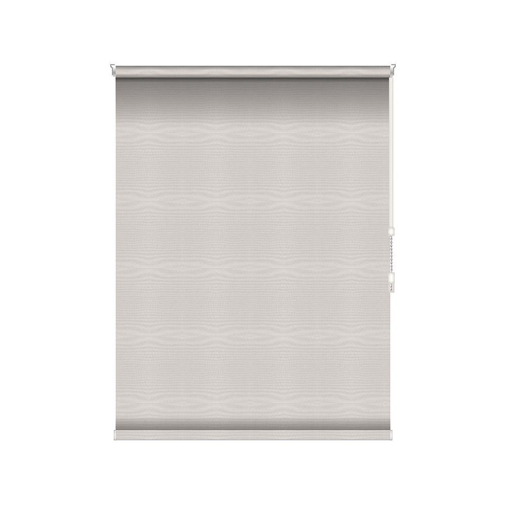 Sun Glow Tissue Opaque Toiles à Rouleau - Rouleau Ouvert à Chaîne - 57.5-po X 60-po en Glace