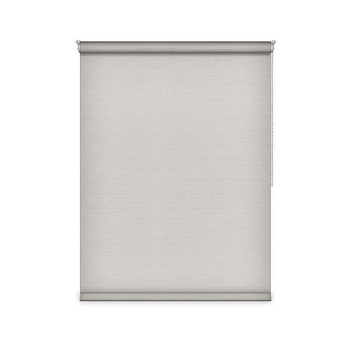 Sun Glow Blackout Roller Shade - Chain Operated Open Roll - 33.25-inch X 84-inch in Ice